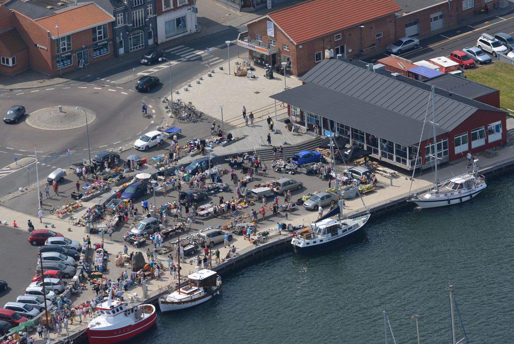 Sol, sommer og marked på Lemvig havn - 28.07.2014