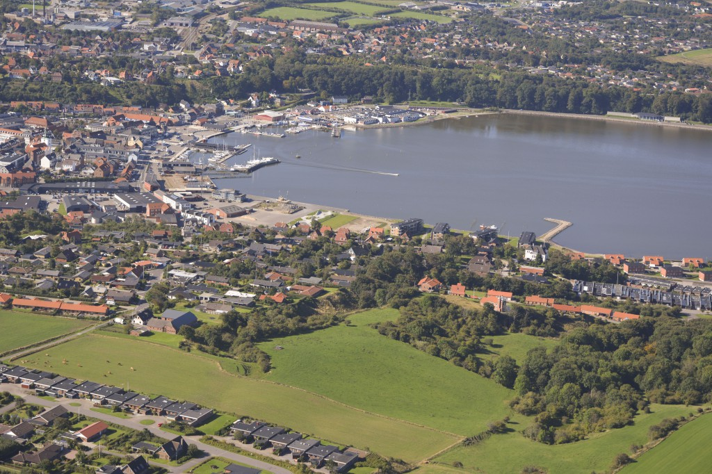 03.09.14: Lemvig set fra nordøst (Torsvej) mod sydvest