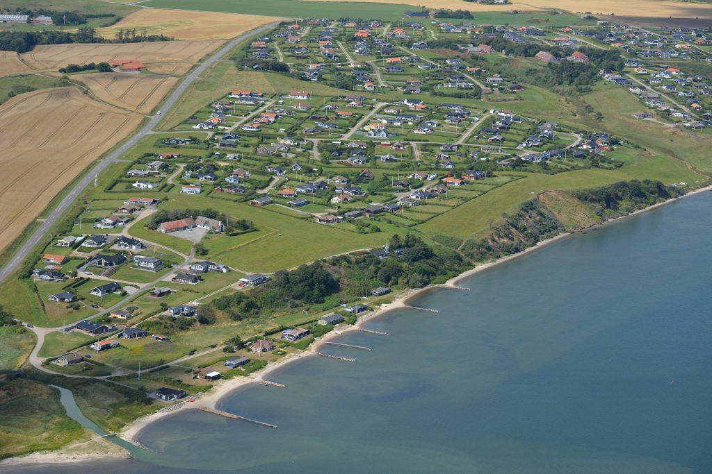 Luftfoto 15.08.13: Gjellerodde sommerhusområde