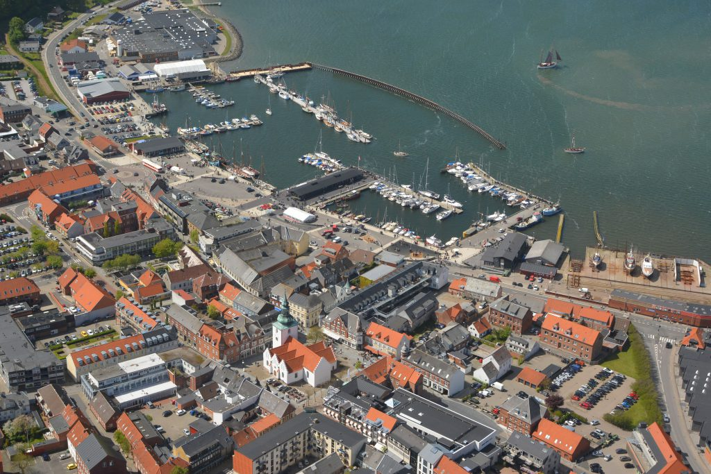 Luftfoto 23.05.15: træskibsstævne i Lemvig