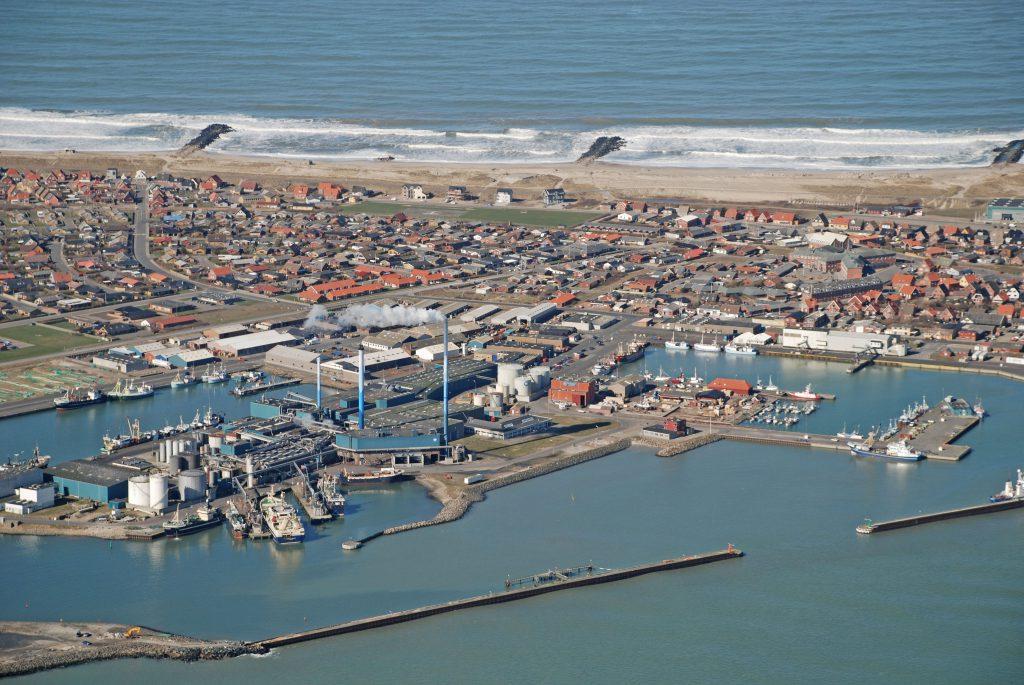 Luftfoto 20.03.07: Thyborøn havn med 999 (TripleNine Group A/S)