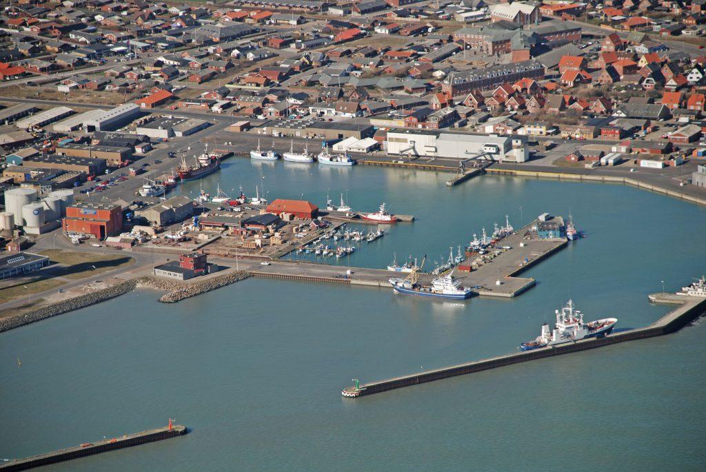 Luftfoto 20.03.07 : Thyborøn havn