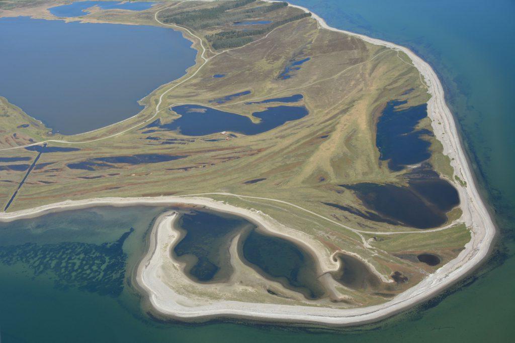 Luftfoto 04-05-16: Gjeller Odde
