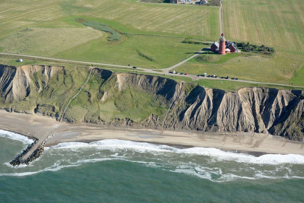 26.09.16 Luftfoto: Bovbjerg fyr