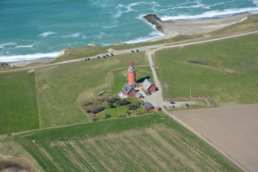 Luftfoto 26.04.17: Bovbjerg fyr