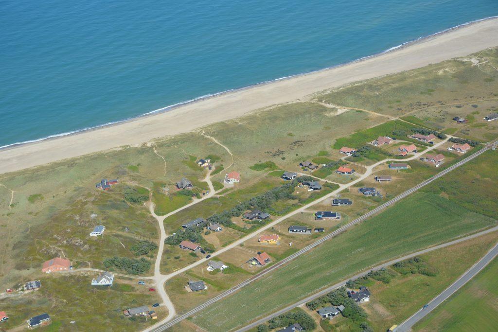 Libravej i den nordligste del af Vejlby Klit ferieområde (Harboøre/Lemvig kommune)