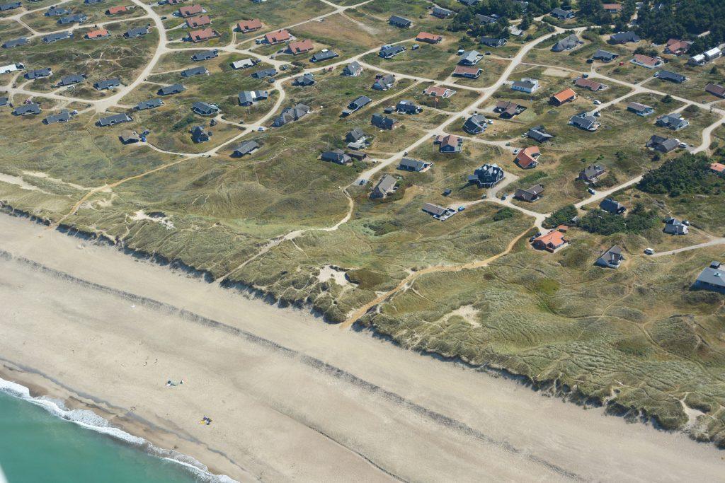 Luftfoto / Aerial photo, Sommerhusområdet Værmlandvej, Viktoriavej og Doblervej set fra vest