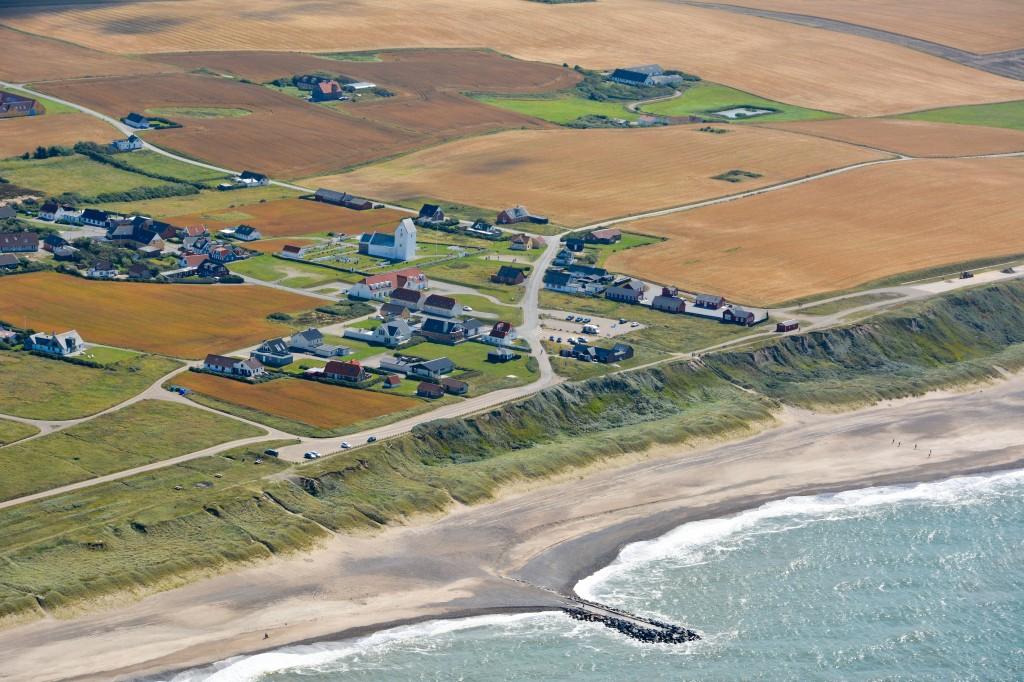 Luftfoto 15.08.2013: Bovbjerg / Ferring