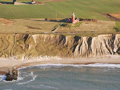 Bølgers og bakkers land set fra oven