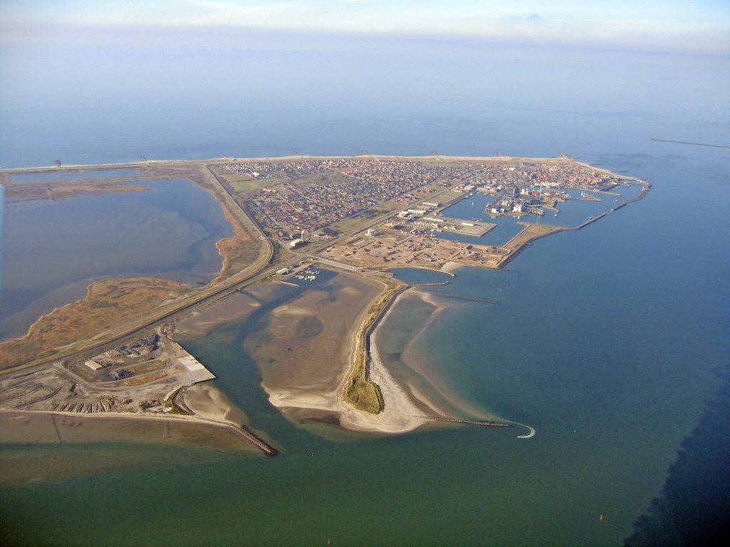 Luftfoto 16.10.03 Thyborøn