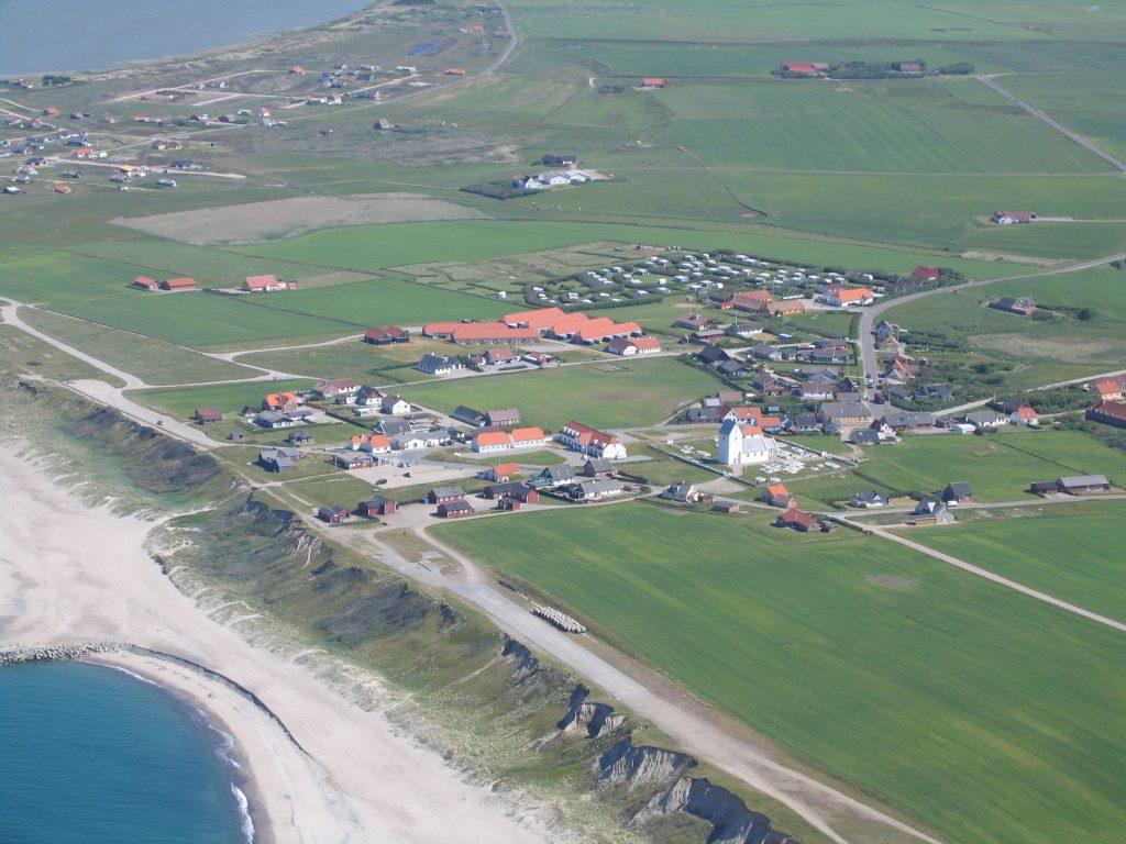 Luftfoto 03.06.04: Bovbjerg / Ferring