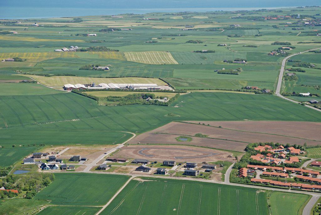 Luftfoto 29.05.09: Gefionsvej og Mimersvej