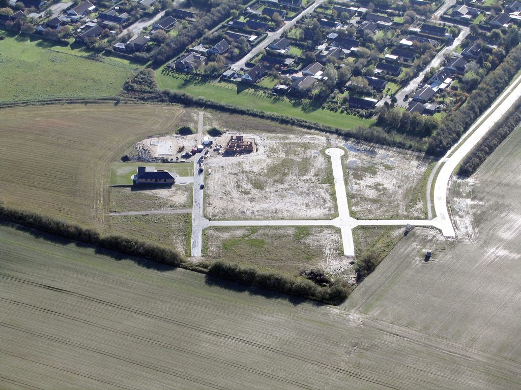 Luftfoto 19.10.04: Tårnfalkevej, Lemvig