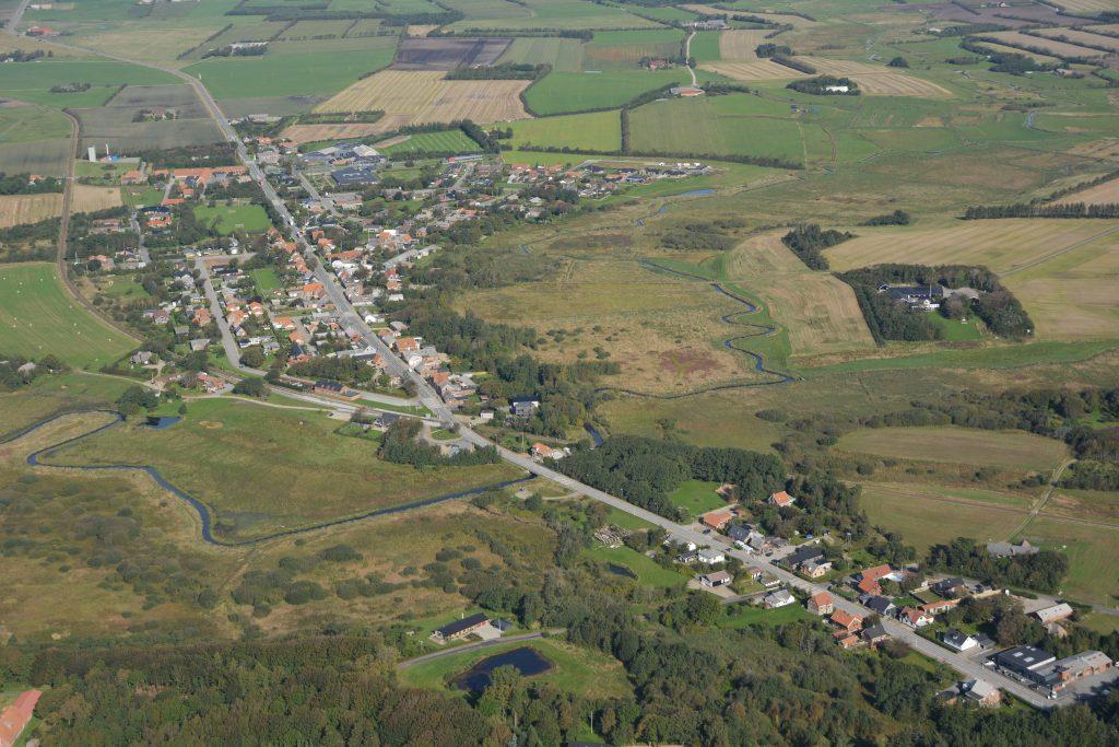 Luftfoto: Bækmarksbro 29-09-15