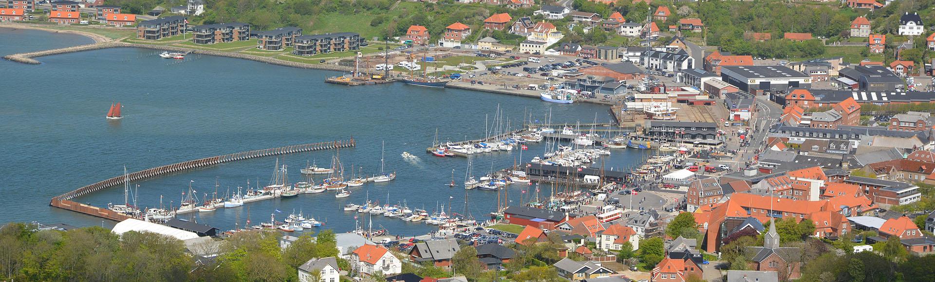 Luftfotos fra Lemvig