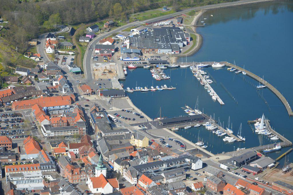 Luftfoto 04-05-16 Lemvig havn