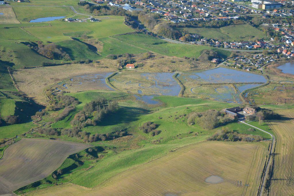 fosfor vådområde i sødalen ved Lemvig Sø 2019