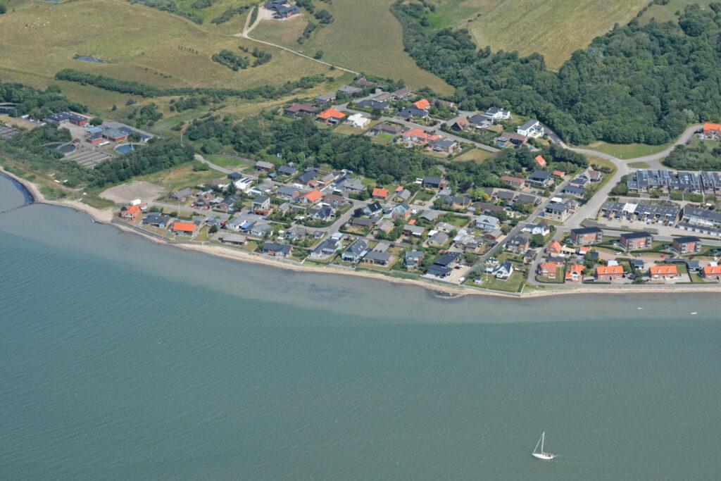 Lemvig boligområder nordøst luftfoto