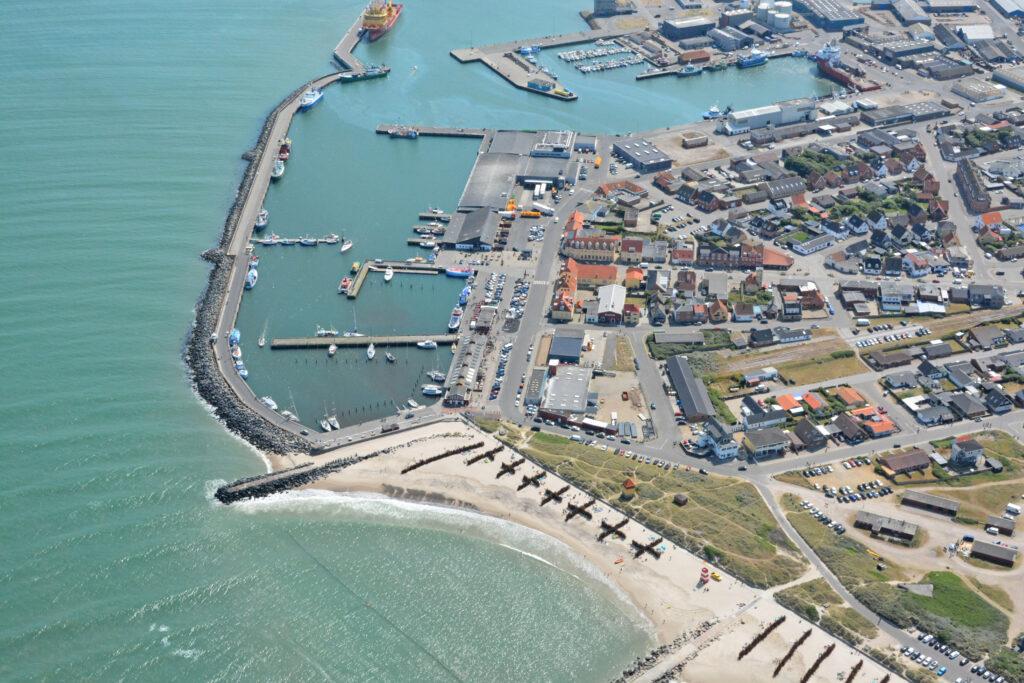 Thyborøn havn, lystbådehavn, badestrand
