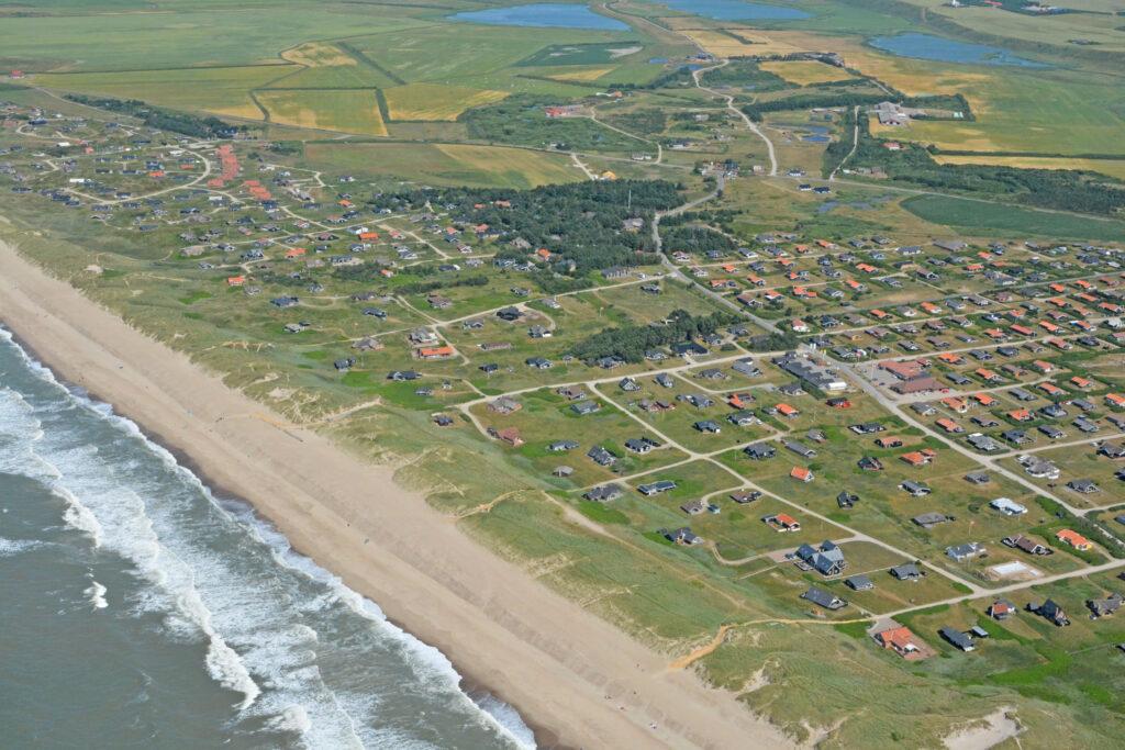 Vejlby Klit; luftfoto; 2021; Amazonevej; Lucievej; Nautilusvej